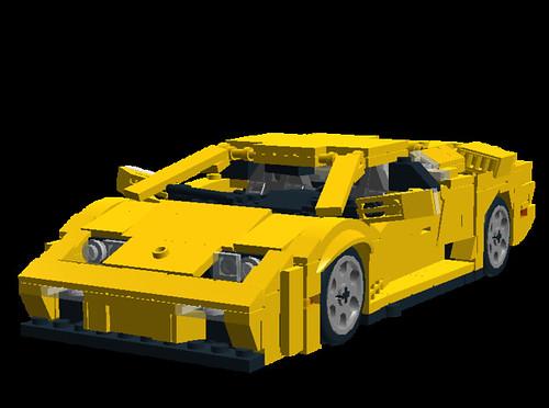 Lamborghini Diablo Vt 6 0 Front Side The Lamborghini
