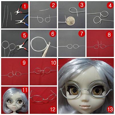 Parte 1   by Regisdoll Passo a passo dos óculos artesanais. Parte 1   by  Regisdoll f0183cb0cf