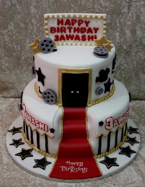 Hollywood Sweet  Birthday Cakes