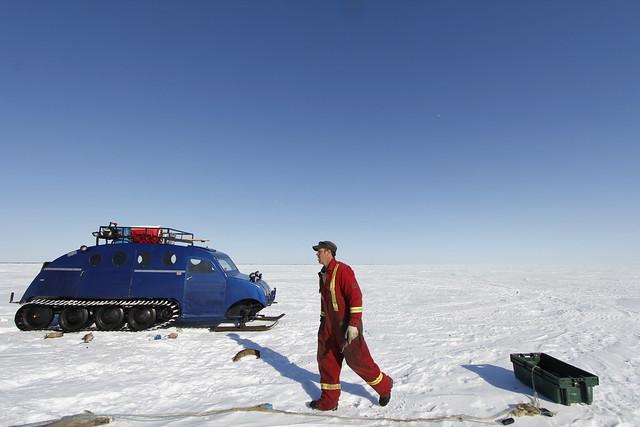 Ice fishing on great slave lake flickr photo sharing for Red lake ice fishing resorts