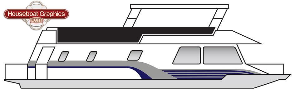 Houseboatgraphicsdesigncustomboatdecals Houseboatgrap Flickr - Custom houseboat graphics