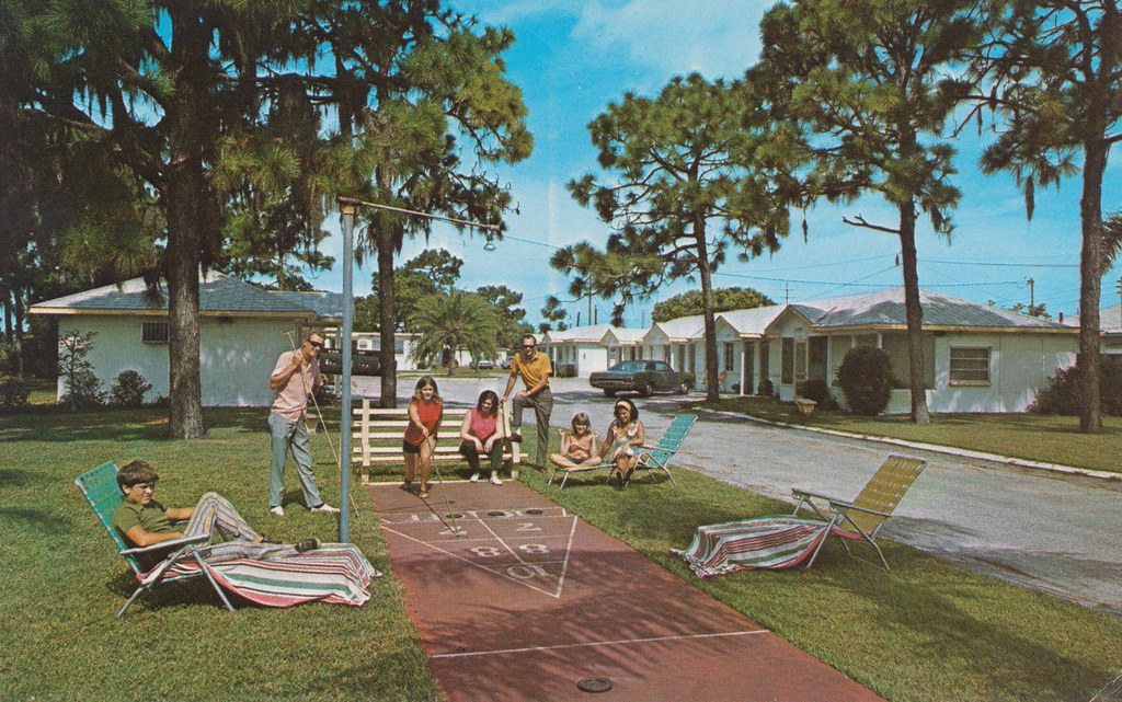 Birdsong S Motor City Motel Largo Florida 12928