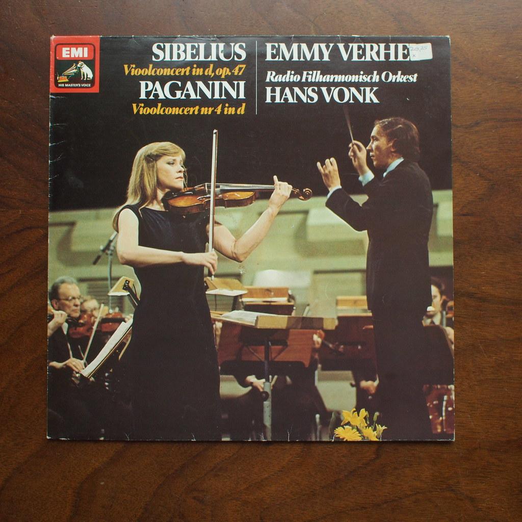 Sibelius - Violin Concerto op.47 & Paganini - Violin Conce ... Emmy Verhey