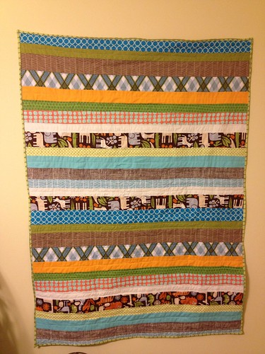 Another baby quilt | by niftyfoodie