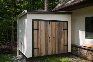 Cistern Shed with Repainted Trim | by goingslowly
