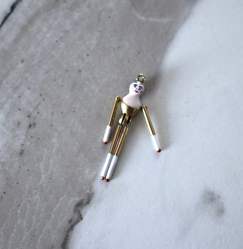 Peg doll charm | Gem Gossip