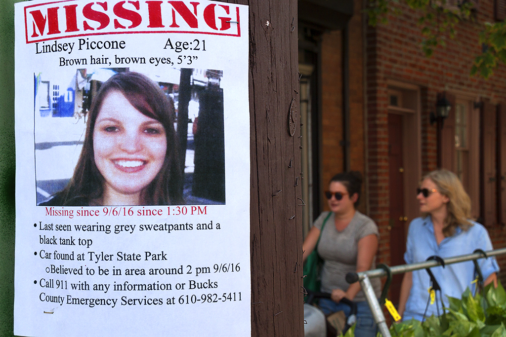 MISSING Lindsey Piccone--Washington Square West
