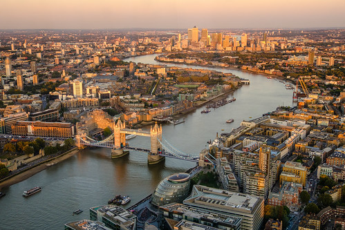 East London Basking in the Setting Sun | by Andrew Stawarz