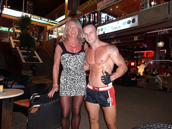 Urlaub in Playa del Ingles Gran Canaria - crossdresser