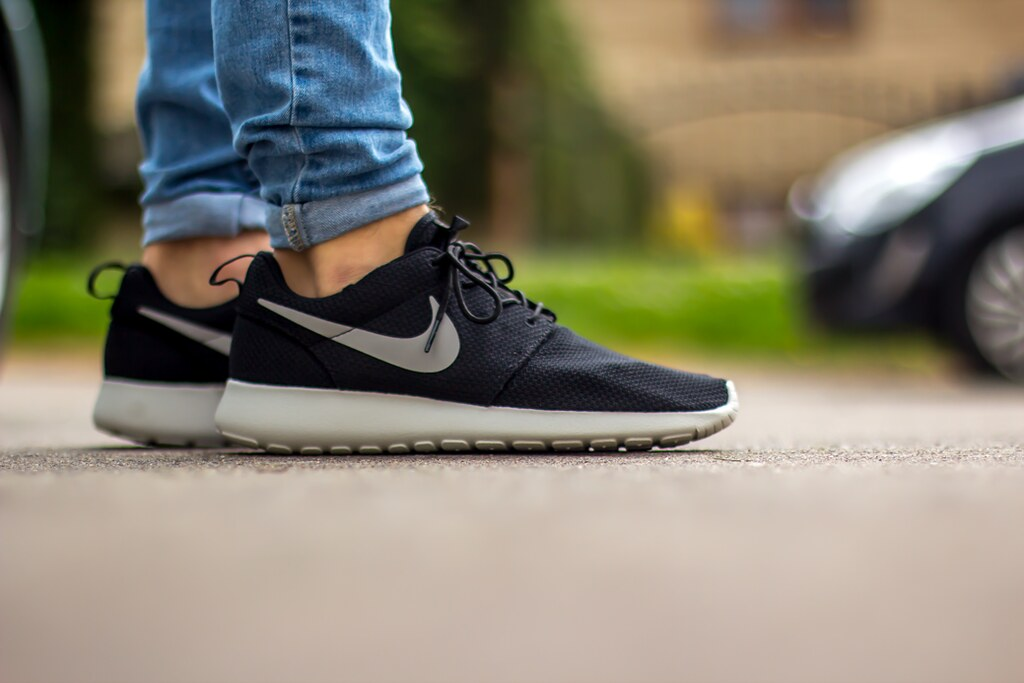Nike roshe run black sail | New shoes arrived :) | shane bain | Flickr