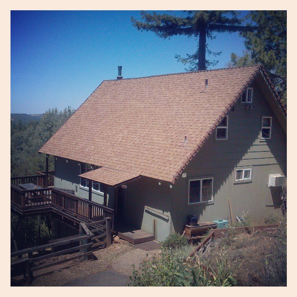 Our little cabin in the sierra nevada foothills jackson for Sierra nevada cabine