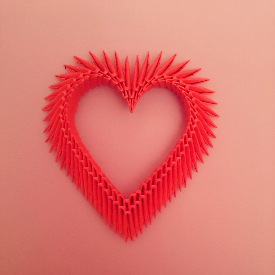 3d origami heart my fold nureddin eminov flickr 3d origami heart by count monte cristo jeuxipadfo Gallery