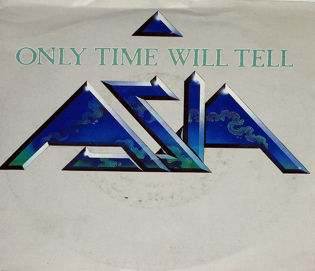 "ASIA ONLY TIME WILL TELL 7"" PS Single"