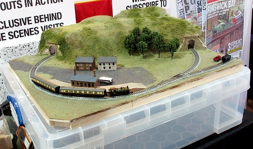 Model railway built in 2 days.