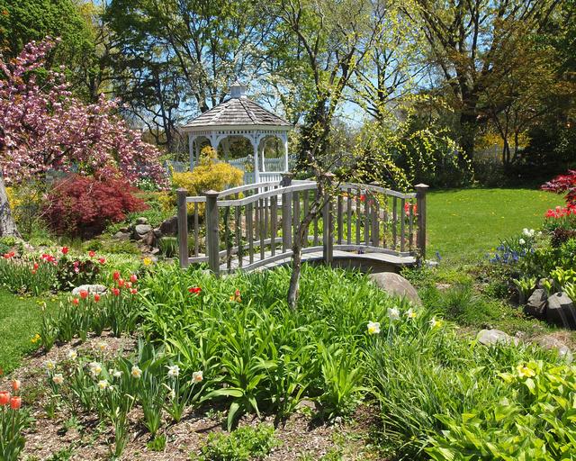 Wedding Garden Pedestrian Bridge South Queens Botanical Flickr