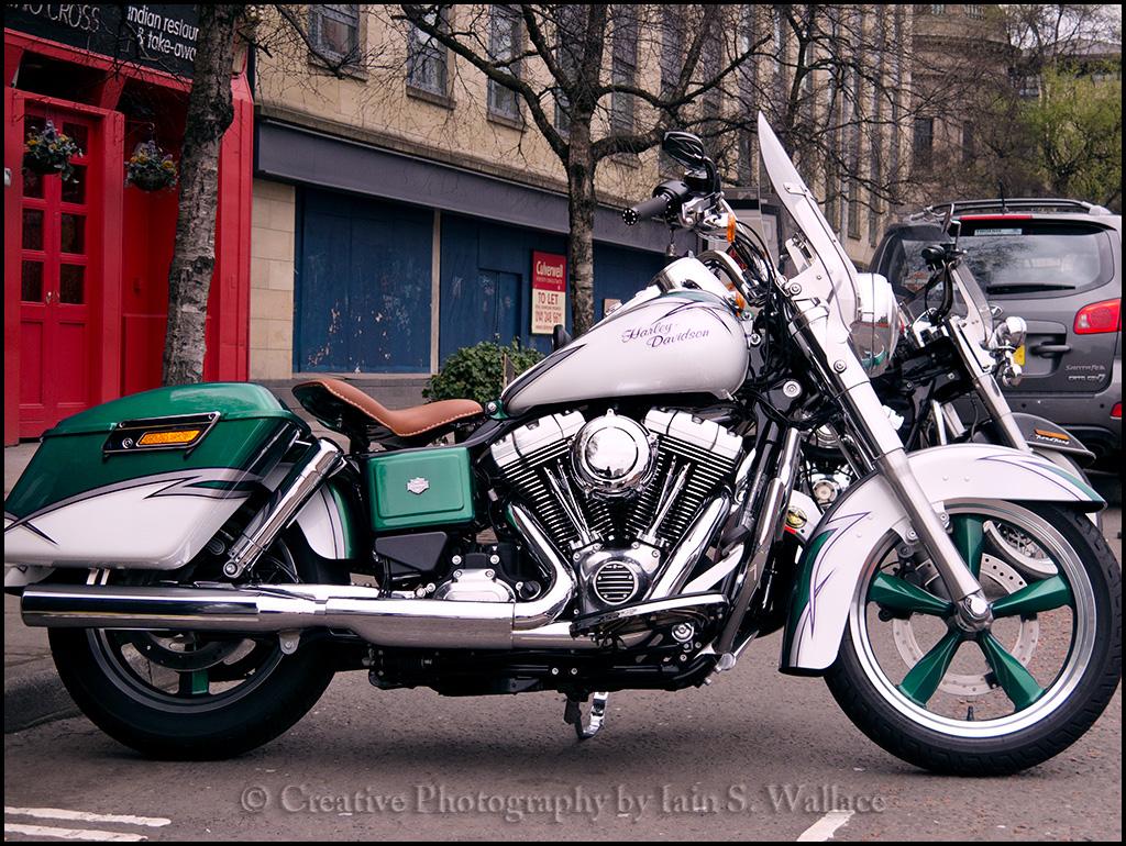 Harley Davidson Switchback Custom Paint