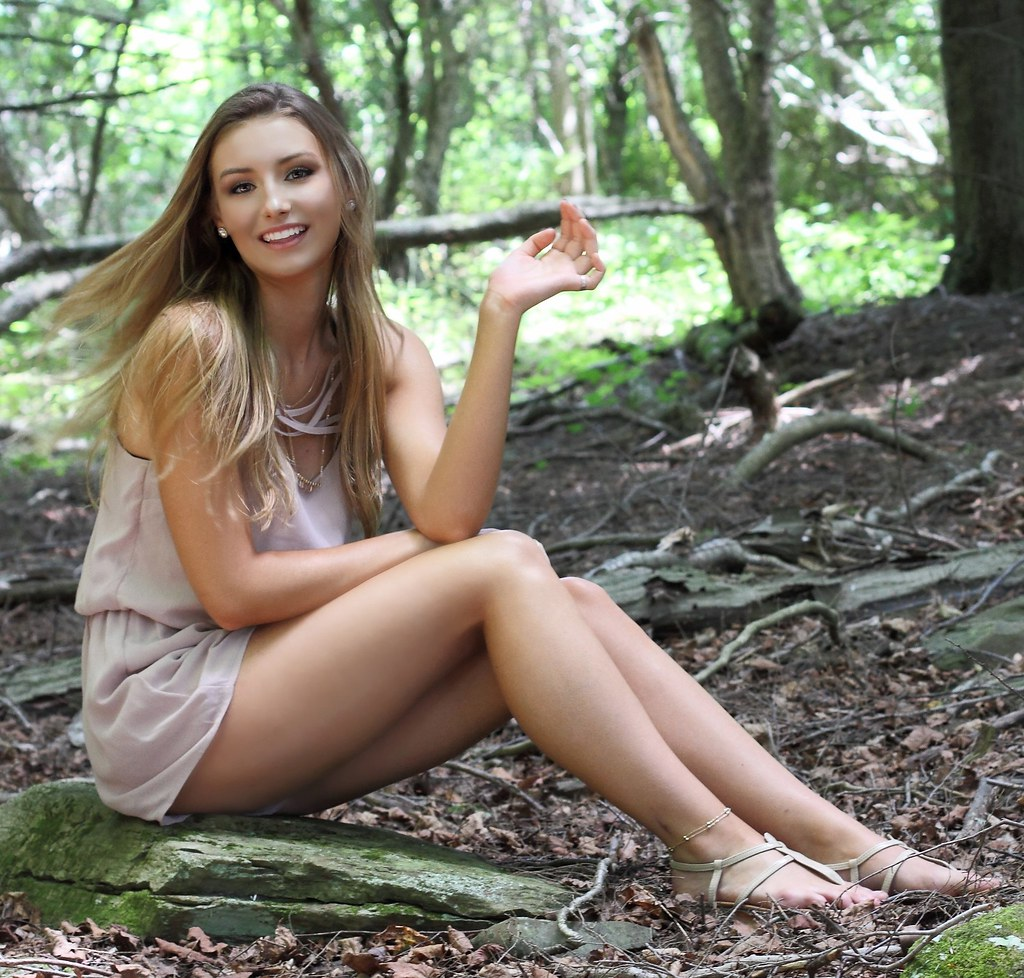 Flickr: IMG_7759_Girl In The Woods And A Wave Of Her Hand...