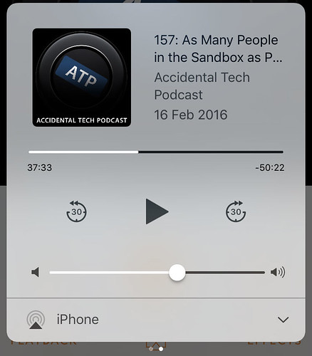 iOS 10 Control Centre page 2