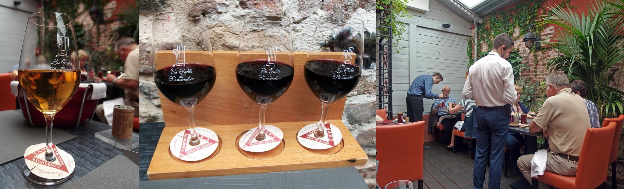 La table du sommelier albi gaillac gegeten gedronken - Restaurant la table du sommelier albi ...