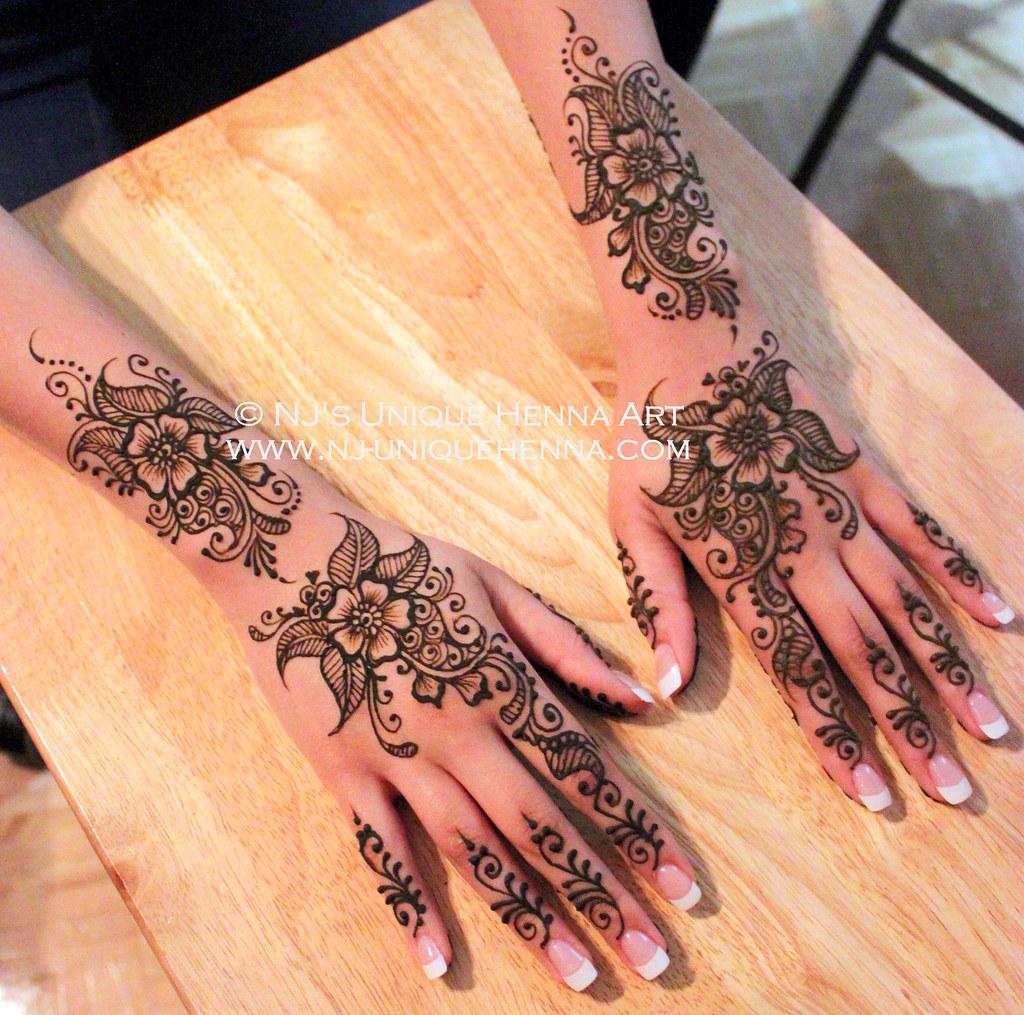 Easy Bridal Mehndi : Hena s simple bridal henna nj unique art