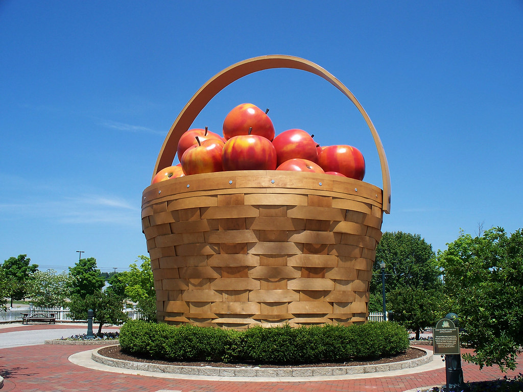 oh frazeysburg longaberger homestead apple basket flickr. Black Bedroom Furniture Sets. Home Design Ideas