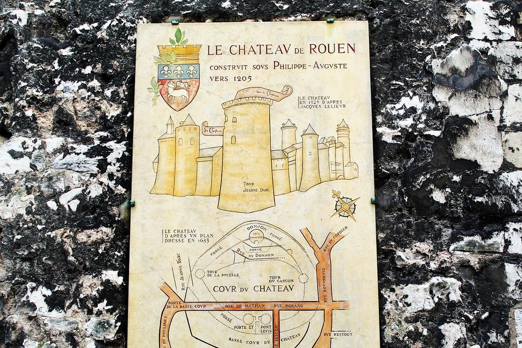Drawing Dreaming - 10 coisas a fazer num dia em Rouen - Tour Jeanne d'Arc