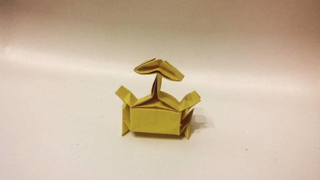 Origami Wall-e Model by Riki Saito #origami #robot #walle … | Flickr