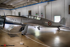 MM558 - 2 - Italian Air Force - SAI Ambrosini S-7 Super - Italian Air Force Museum Vigna di Valle, Italy - 160614 - Steven Gray - IMG_1000_HDR