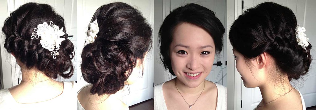 soft romantic updo asian hair braid victoria flickr
