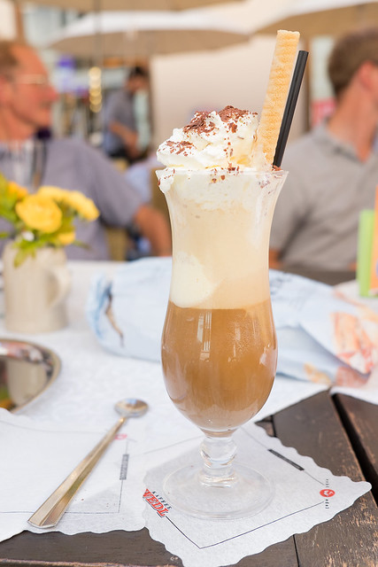 "Café con hielo ""Eiskaffee"""
