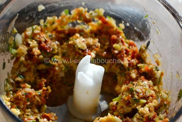 Condiment à l'Ail et  aux Tomates Séchées © Ana Luthi Tous droits réservés 003