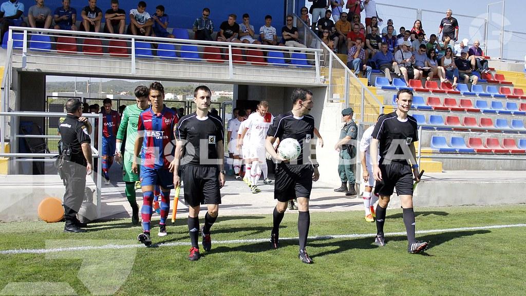 AtcoLevante-MallorcaB 1-2, J3 (Ra)