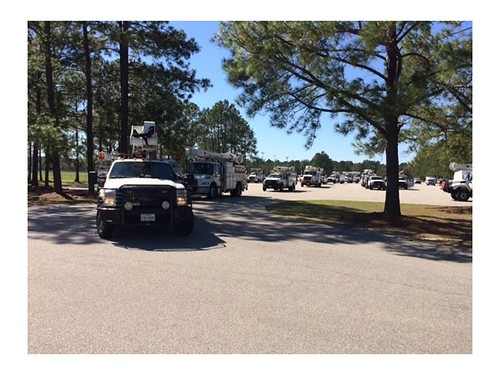 Oncor Heads Home after Hurricane Matthew Response