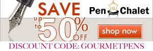 Pen Chalet Discount Code