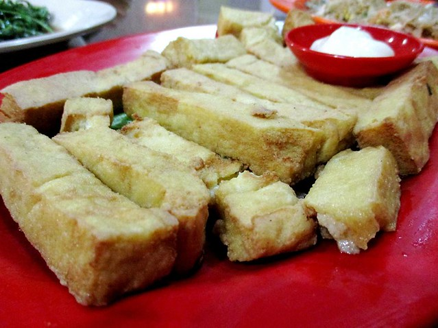Ruby Restaurant fried ownmade tofu