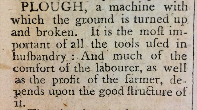 new england farmer plough