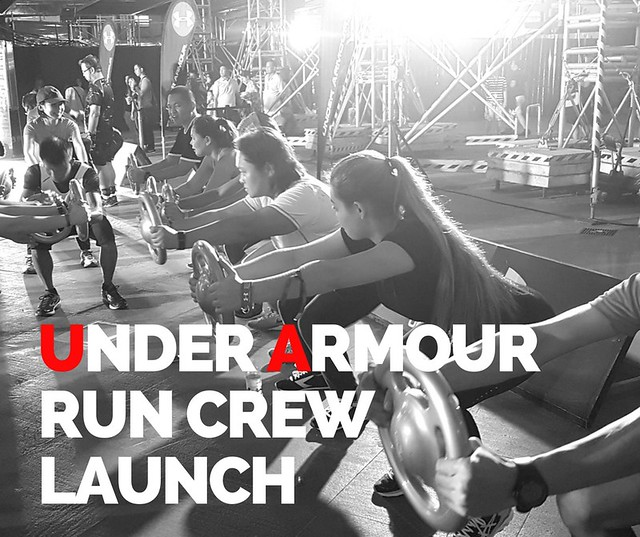 Under Armour Run Crew Launch
