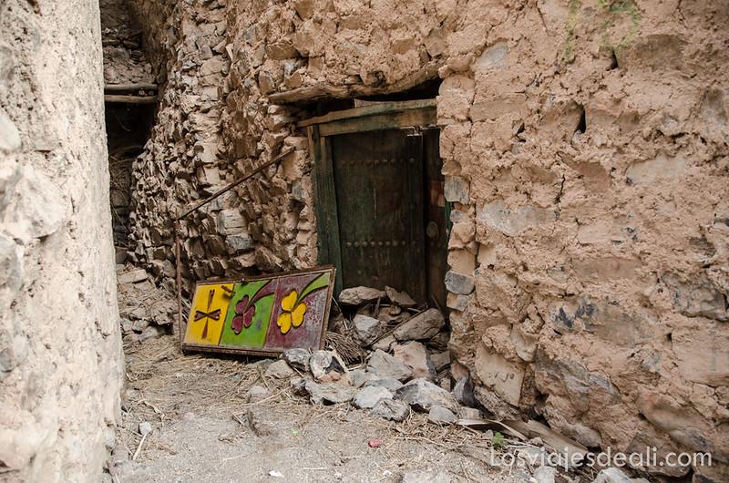 Misfat Al Albreyeen en la cordillera Al Hajar