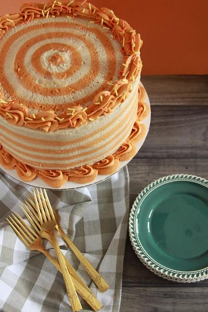Pumpkin Snickerdoodle Cake