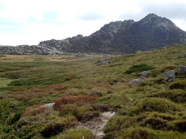 Au col supérieur du Frauletu : pianu du Castellu d'Urnucciu