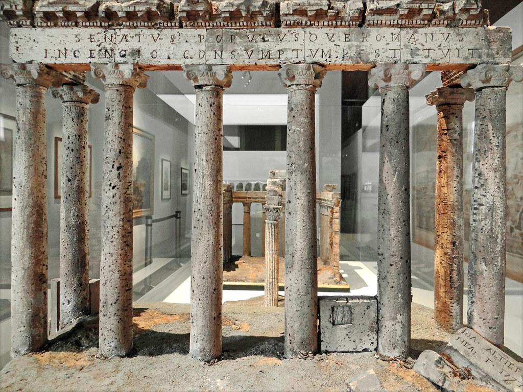 Maquettes de la rome antique beaux arts paris au - Cuisine de la rome antique ...