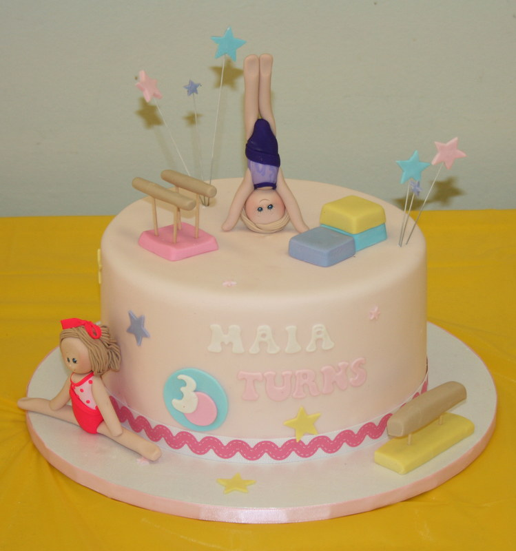Gymnastics Birthday Cake Sweet Tooth Cakes And Cupcakes Flickr