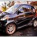 (138/365) Smart Car in Black / Meriden, CT