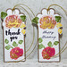 Wedding Embossed Gift and Favor Tags Handmade