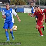 Barking FC v Burnham Ramblers FC - Saturday October 15th 2016
