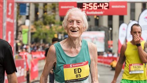 Ed Whitlock Maratón de Toronto