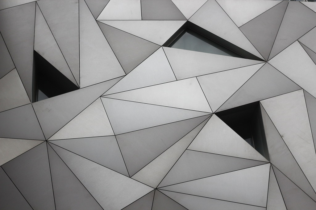 Architecture Triangles David In Flickr