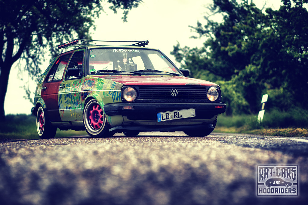 Vw Golf Mk2 Cl Ratte Hoodride Www Facebook Com