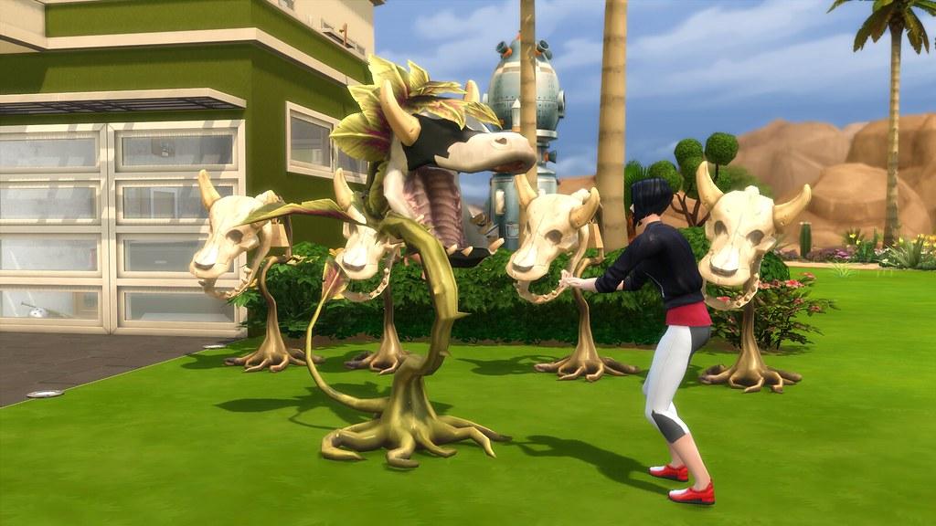 Planta-Vaca en Los Sims 4