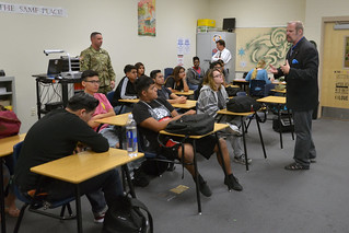 Trustee Child visits Rancho HS for Week of Respect | by Trustee Kevin L. Child - District D